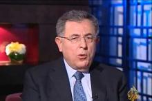 Embedded thumbnail for لقاء دولة الرئيس فؤاد السنيورة على قناة الجزيرة ضمن برنامج لقاء