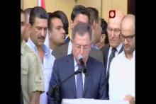 Embedded thumbnail for خطاب الرئيس فؤاد السنيورة في تشييع اللواء وسام الحسن